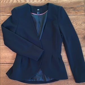 H & M Black blazer